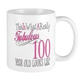 100 year old birthday Small Mugs (11 oz)