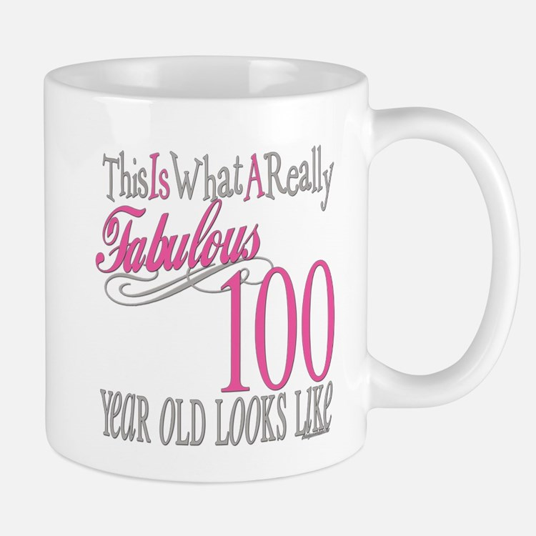100th Birthday Gift Mug