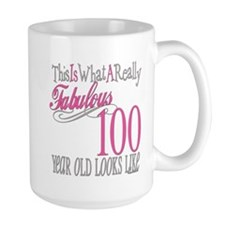 100th Birthday Gift Mug