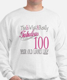 100th Birthday Gift Sweatshirt