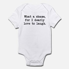 Dearly Love to Laugh Infant Bodysuit
