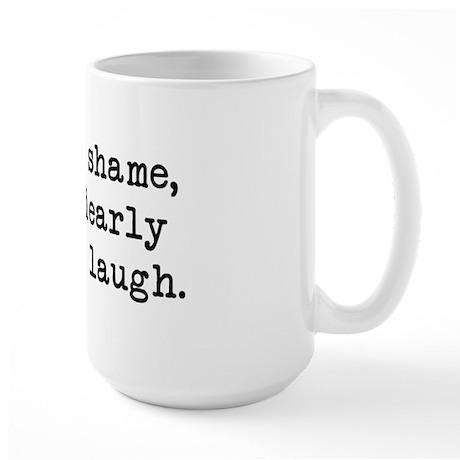 Dearly Love to Laugh Large Mug