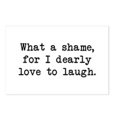 Dearly Love to Laugh Postcards (Package of 8)