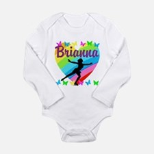 CUSTOM SKATER Long Sleeve Infant Bodysuit