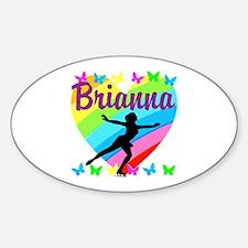 CUSTOM SKATER Sticker (Oval)