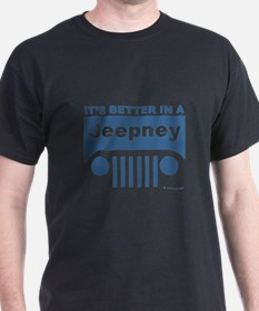 Better in a Jeepney T-Shirt