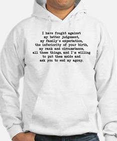 Fought Against Judgement - Darcy Jumper Hoody