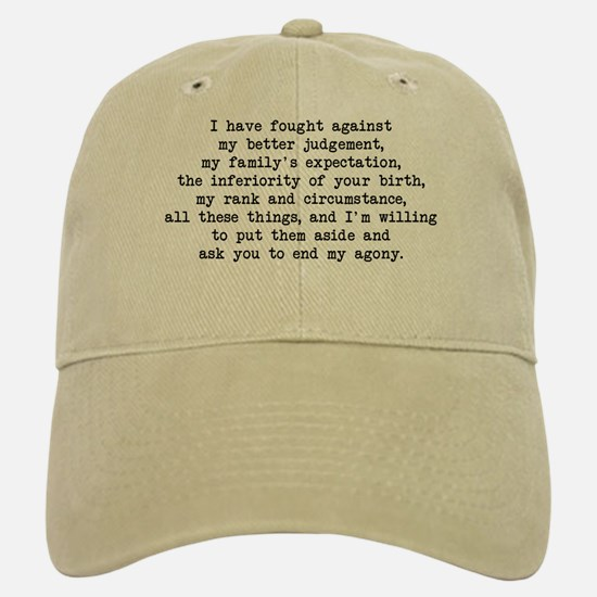 Fought Against Judgement - Darcy Baseball Baseball Cap