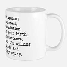 Fought Against Judgement - Darcy Mug