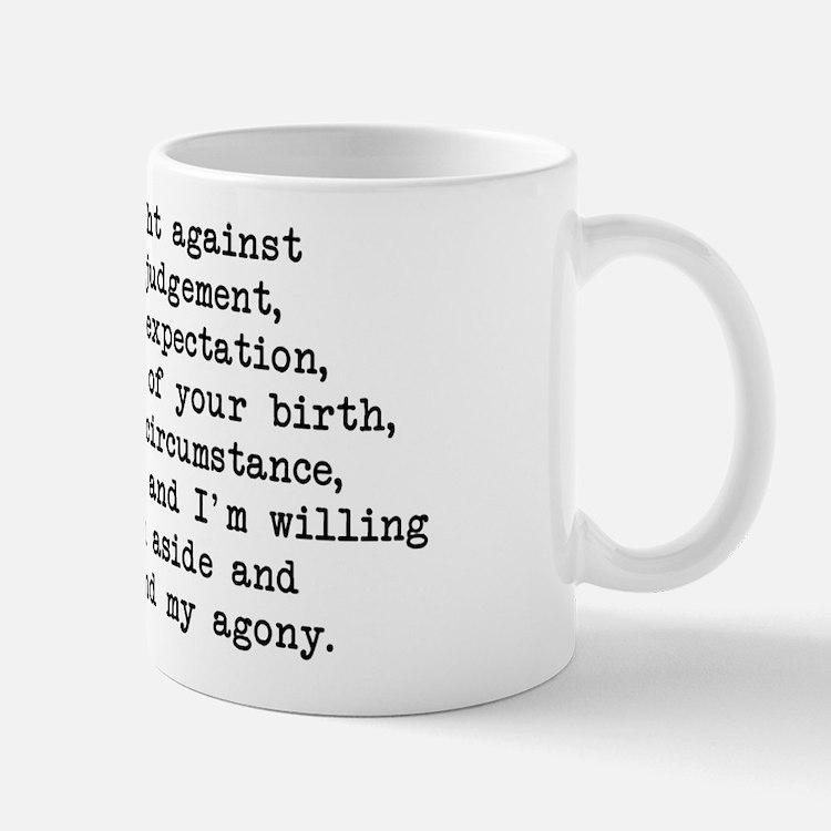 Fought Against Judgement - Darcy Mug