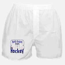 Hockey Coach Boxer Shorts