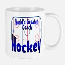 World's Greatest Hockey Coach Mug