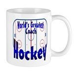 World's Greatest Hockey Coach Mug