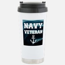 Navy Veteran Travel Mug