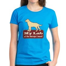 Yellow Lab Therapy - Tee