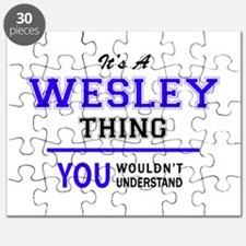 It's WESLEY thing, you wouldn't understand Puzzle