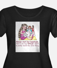 Dolly Dollars Plus Size T-Shirt