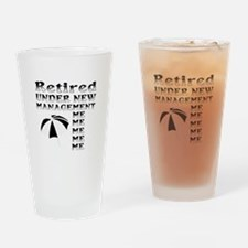 Funny retirement Drinking Glass