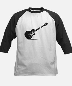 Half Tone Electric Guitar Baseball Jersey