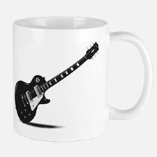 Half Tone Electric Guitar Mugs