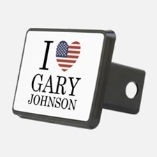 I Love Gary Johnson Hitch Cover