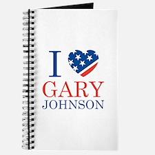 I Love Gary Johnson Journal