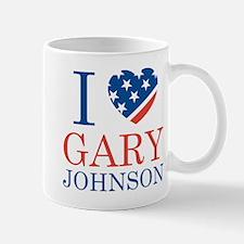 I Love Gary Johnson Mug