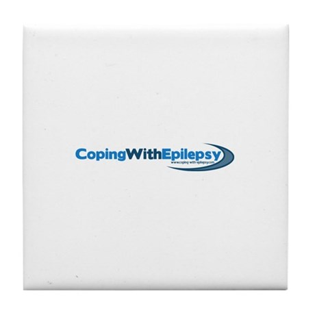 Coping With Epilepsy Tile Coaster