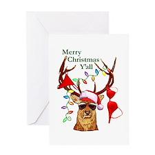 Christmas Bubba Deer Greeting Card