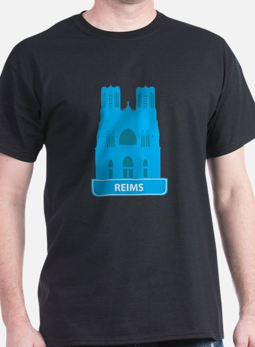 National landmark Reims silhouette T-Shirt