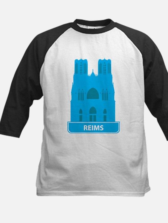 National landmark Reims silhouette Baseball Jersey