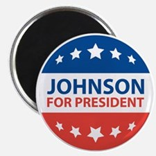 Johnson For President Magnets