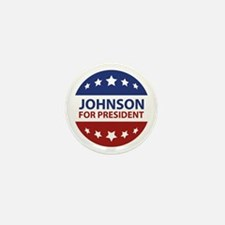 Johnson For President Mini Button