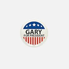 Gary For President Mini Button