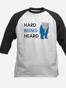 Hard Being Heard Baseball Jersey