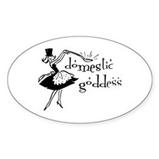 Domestic Goddess Decal