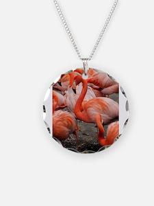 Pink Flamingo Necklace