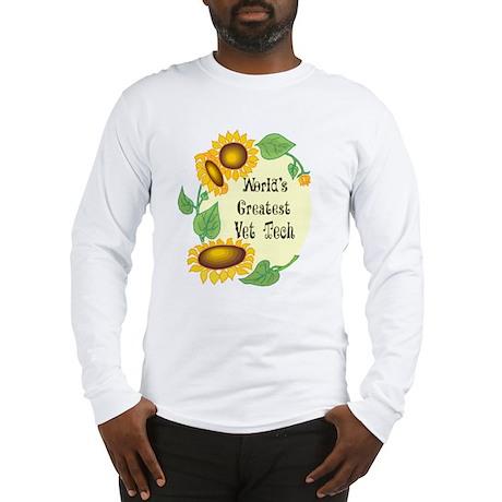 World's Greatest Vet Tech Long Sleeve T-Shirt