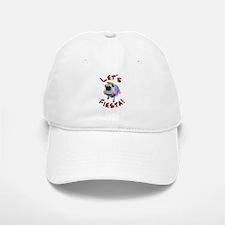 Let's Fiesta Pug Baseball Baseball Baseball Cap
