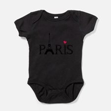 Cute Travel france Baby Bodysuit