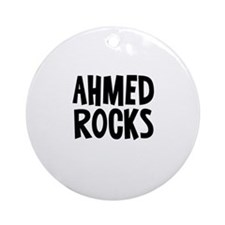 Ahmed Rocks Ornament (Round)