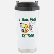 Cute Talk radio Travel Mug