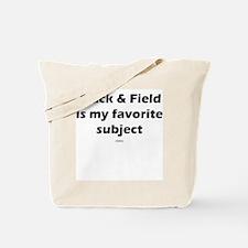 T&F Favorite Subject Tote Bag
