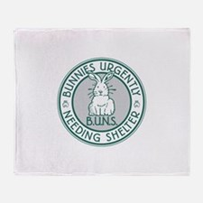 Buns Logo Throw Blanket