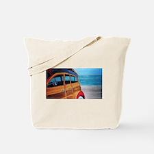SURFIN SAFARI WOODIE Tote Bag