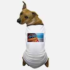 SURFIN SAFARI WOODIE Dog T-Shirt