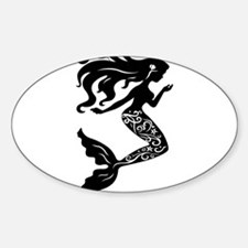 Mermaid silhouette design Decal