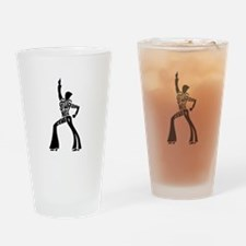 Saturday night fever dancer Drinking Glass