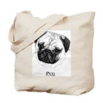 Pug Dog Breed Tote Bag