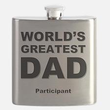 Cute Dad Flask